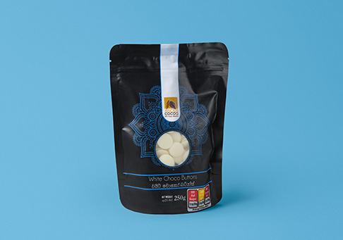 Stand up pouch (SUP) cookies